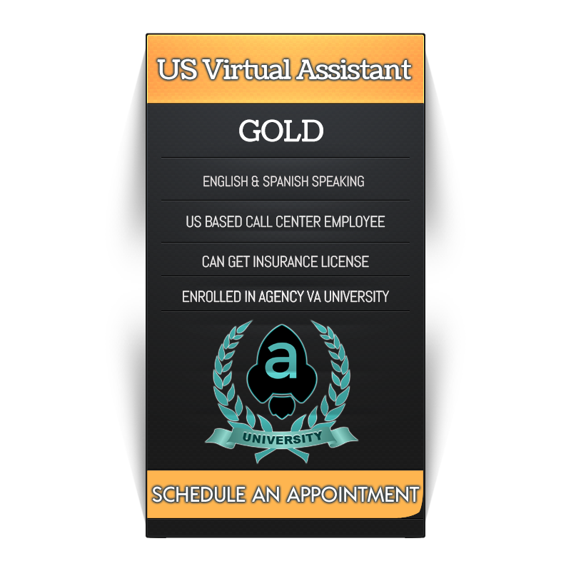 Insurance Virtual Assistant Gold Service Badge